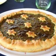 Torta salata spinaci e mascarpone