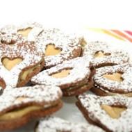 Biscotti al cioccolato e dulce de leche