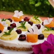 Torta fantasia floreale