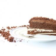 Torta al cioccolato con mousse di nutella