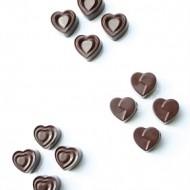 Cioccolatini ripieni al pistacchio