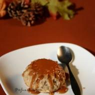 Budino di castagne con caramello morbido allo zenzero