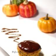 Muffin di zucca e cioccolato
