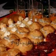 Piccola pasticceria salata per il buffet di Capodanno