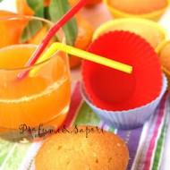 Il muffin al mandarino e la sua spremuta