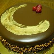 Torta rubino nero