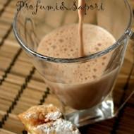 La vera cioccolata calda in tazza