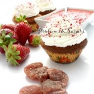 Dried Strawberry Day – Tortine al cioccolato bianco e fragole