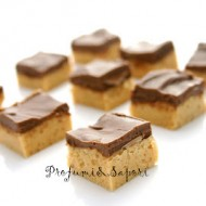 Quadrotti al cioccolato e burro di arachidi di Nigella