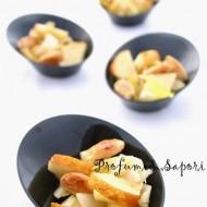 Indivia belga, pere e mandorle agrodolci tostate per lo Starbooks redone di Novembre