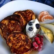 Pancake di zucca e fiocchi d'avena