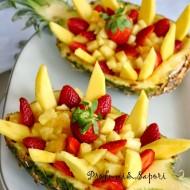 Barchette di ananas