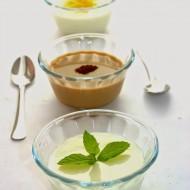Budino Dukan alla vaniglia (senza grassi, senza glutine, senza uova)