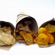 Colesterolo cattivo? No grazie! … Chips di sedano rapa