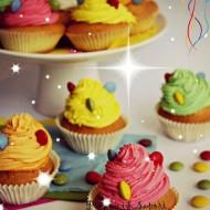 Cupcake colorati per carnevale