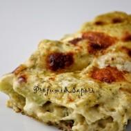 Lasagne verdi al pesto e zucchine