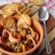 Zuppetta di cozze e calamari