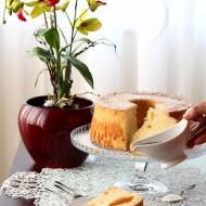 Fluffosa (Chiffon cake) allo sciroppo d'acero