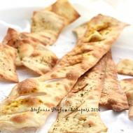 Crackers integrali con esubero di lievito madre