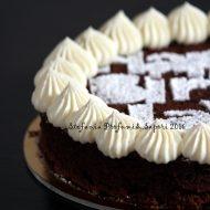 Torta tenerella con namelaka al cioccolato bianco di Maurizio Santin