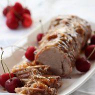 Filetto di maiale alle ciliegie