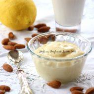 Crema pasticcera con latte di mandorla