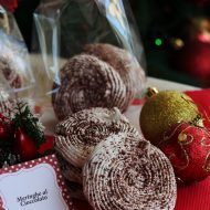 Regali di Natale home made – Meringhe al cioccolato