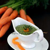 Pesto di foglie di carote
