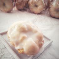 Biscotti taralli con la velata di zucchero